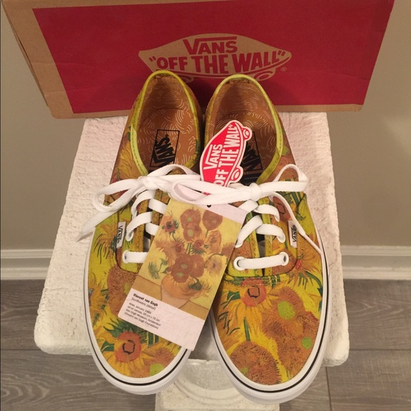 24acaedd601 Limited Edition Vincent Van Gogh Sunflower Vans